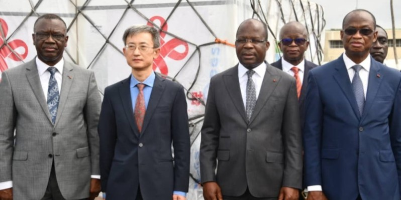 Pierre Dimba s'est félicité de l'appui de la Chine à la Côte d'Ivoire. (DR)