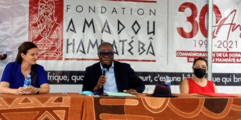 Jérémie Kouadio N'Guessan, président du jury, a donné les critères de participation au concours. (Photo : DR)