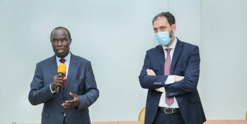 L'ambassadeur de Côte d'Ivoire en Algérie a exposé les motivations de son aide à l'implantation de la structure en Côte d'Ivoire. (DR)
