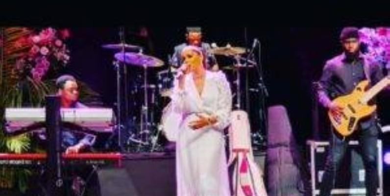 Le concert de l'artiste marocaine, Sofia Mestaria, été à la hauteur des attentes. (DR)