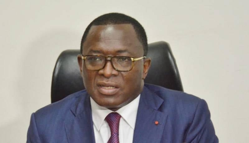 Le ministre des Sports et du Développement de l'économie sportive, Paulin Claude Danho. (Photo : DR)