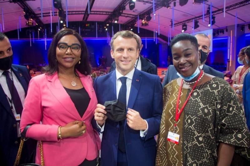 La ministre Nassénéba Touré a exposé les avancées de la Côte d'Ivoire en matière des droits des femmes. ( PHOTO DR)