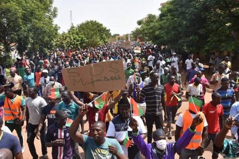 Marche de l'opposition au Burkina, le samedi 3 juillet 2021