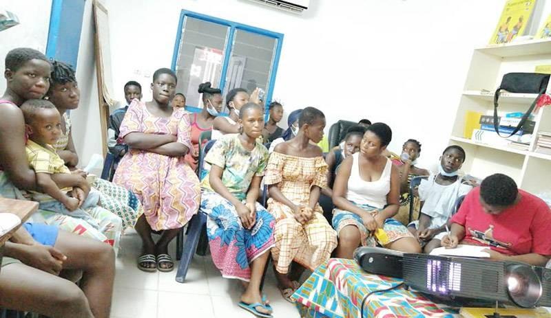 Plusieurs jeunes à Abidjan et dans les villes de l'intérieur du pays ont pris part à la rencontre. (Photo : DR)