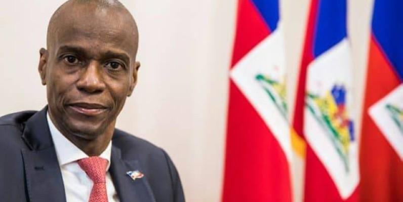 Le Président haitien Jovenel Moïse assassiné par un commando. (Photo : RFI)
