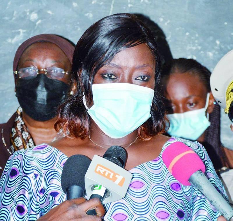 La ministre Mariatou Koné est déterminée à lutter contre la fraude. (Photo : Julien Monsan)