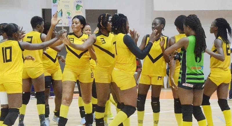 L'équipe de l'Asec, championne en titre de Côte d'Ivoire. (DR)