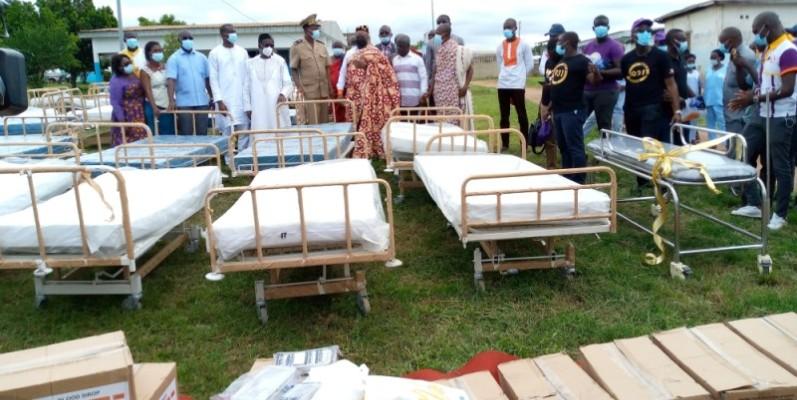 Une vue des lits d'hospitalisation destinés aux formations sanitaires de la région. (Photo : DR)