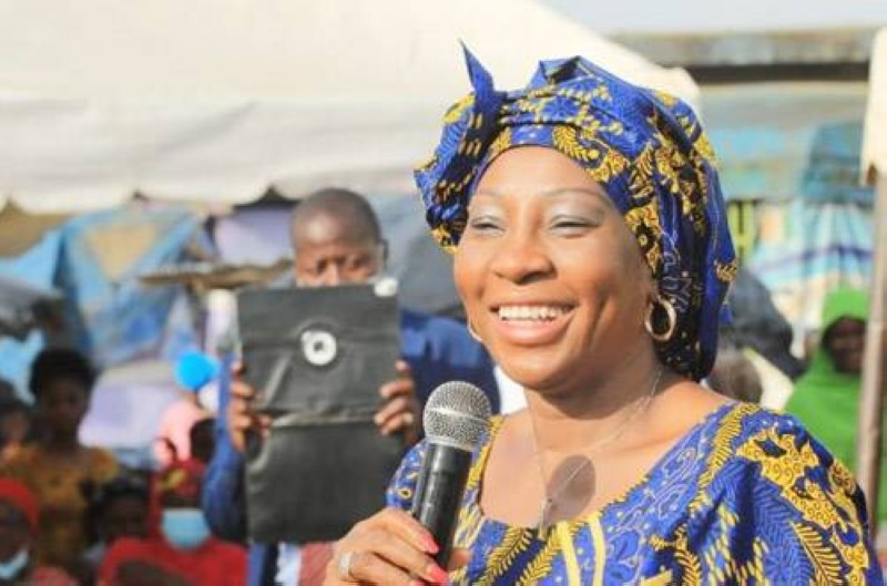 Kandia Kamissoko Camara, ministre d'Etat, ministre des Affaires étrangères, de l'Intégration africaine et de la Diaspora, élue nouveau maire d'Abobo. (Photo : DR)