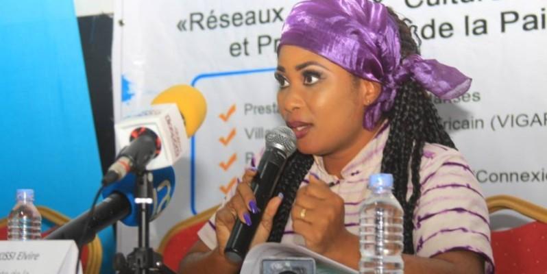 Mme Elvire Kissi, présidente de la fondation Afrik'Orizon, initiatrice de l'événement. (DR)