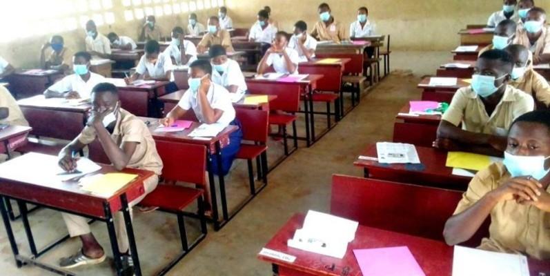 Des élèves en pleine composition. (DR)