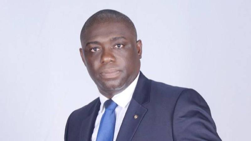 Arthur Assi, président de la mandature 2021-2022 du Rotary club Abidjan Biétry. (DR)