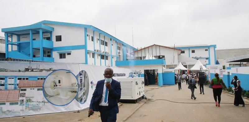 Une vue de l'hôpital général d'Adjamé. (Photos : Poro Dagnogo)