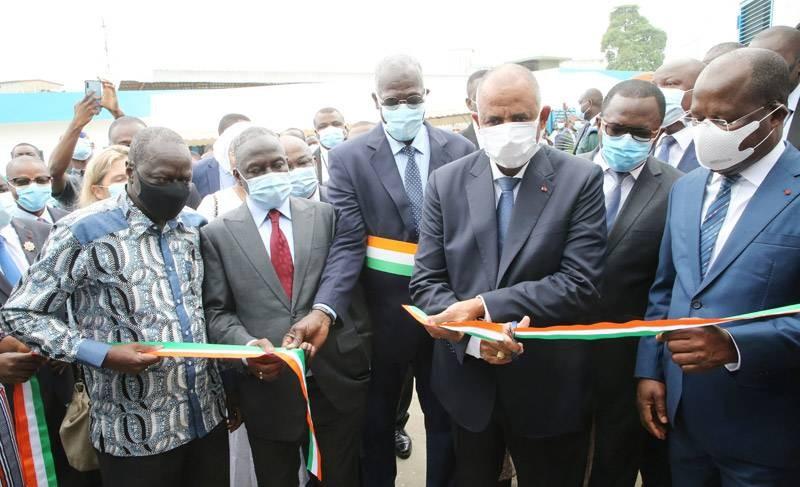 L'hôpital général d'Adjamé réhabilité, inauguré par le Premier ministre Patrick Achi. (Photos : Poro Dagnogo)