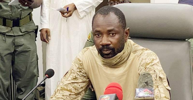 Le Colonel Assimi Goïta. (DR)