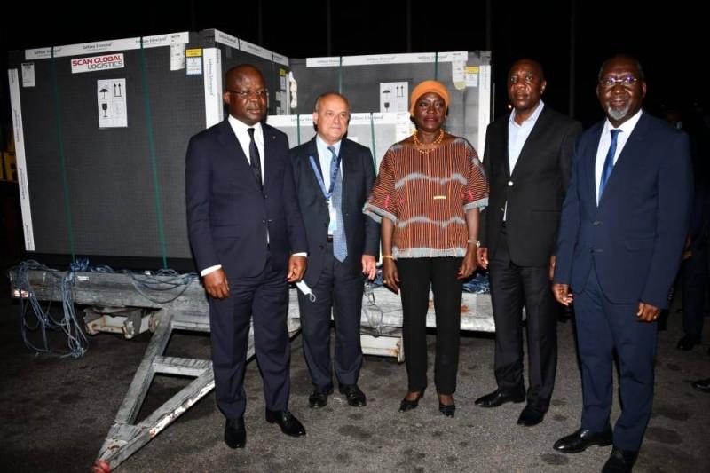 Le don de 268 000 doses de vaccins via la facilité COVAX témoigne de l'engagement de la France en faveur de la Côte d'Ivoire