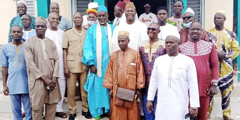 Les guides religieux ont formulé des bénédictions pour le Président Alassane Ouattara. (DR)