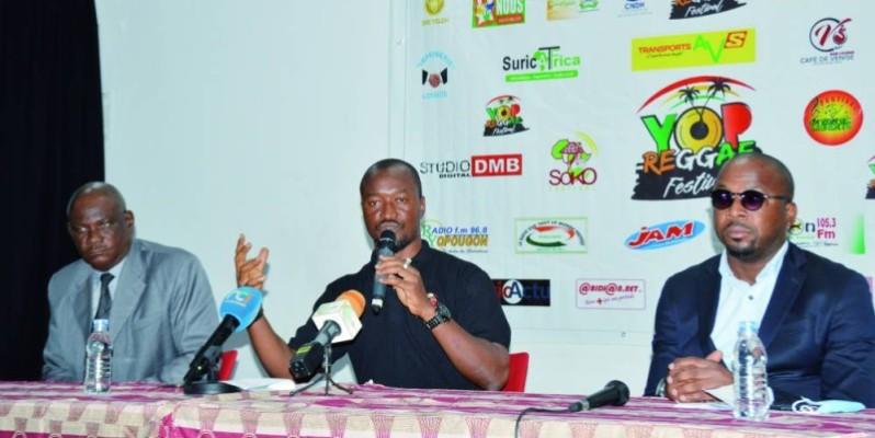 Le commissaire général Bassamouka a déroulé le menu auquel auront droit les festivaliers, du 18 au 22 août, dans la commune de Yopougon. (DR)