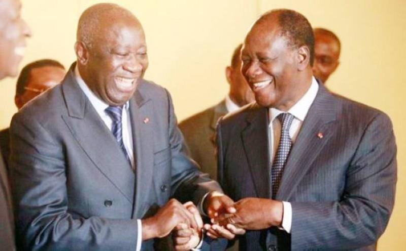 L'ex-Président Laurent Gbagbo sera reçu en audience par le Président de la République Alassane Ouattara. (DR)