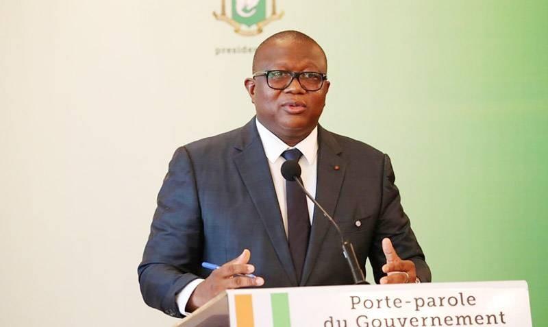 Le ministre Amadou Coulibaly, porte-parole du gouvernement. (DR)