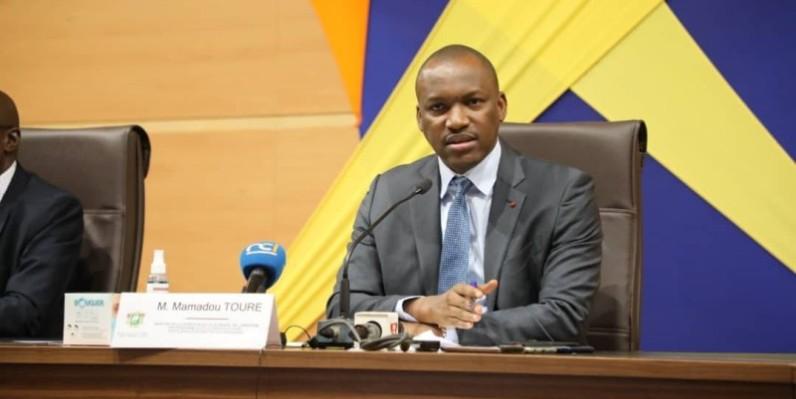 Mamadou Touré, ministre de la Promotion de la jeunesse, de l'Insertion professionnelle et du Service civique. (DR)
