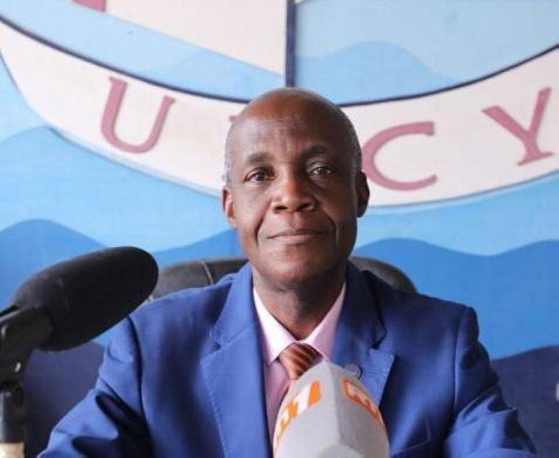 Anicet Gnanzi, président de l'Udcy. (DR)