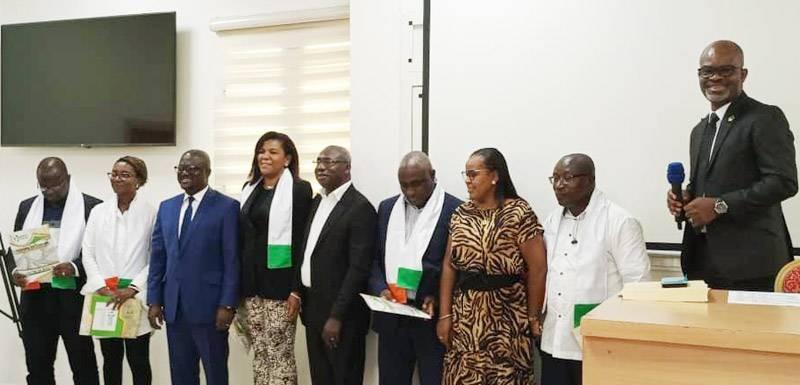 Une vue de quelques présidents de sections de l'UNPPCI investis. (DR)