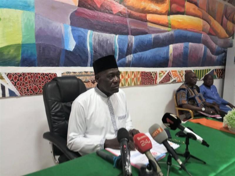 Farikou Soumahoro, président de la Fédération nationale des acteurs du commerce de Côte d'Ivoire (Fenacci)