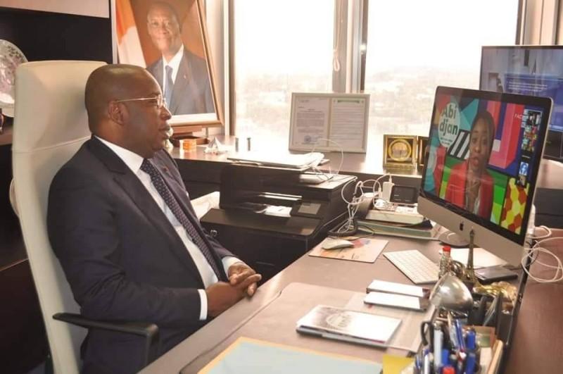 Le ministre du Tourisme et des Loisirs, Siandou Fofanan
