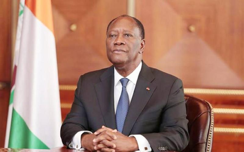Le Président de la République Alassane Ouattara. (DR)