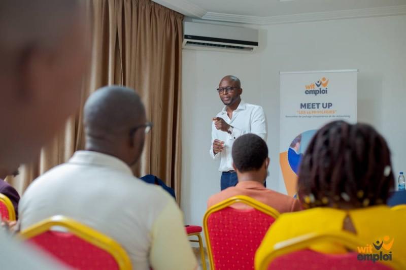 Ismahill Diaby, Directeur Générale Afrique de l'Ouest et Centrale francophone de Visa.