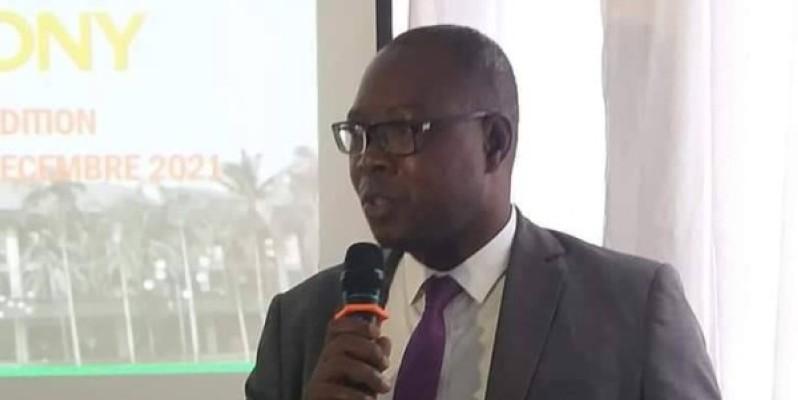 Le président du Conseil exécutif de l'Union des journalistes de Côte d'Ivoire (Unjci), Jean-Claude Coulibaly. (DR)