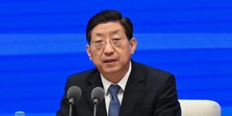 Le vice-ministre de la Santé, Zeng Yixin, a réagi vigoureusement, le 22 juillet 2021, contre la demande d'audit des laboratoires chinois. (Photo : DR)