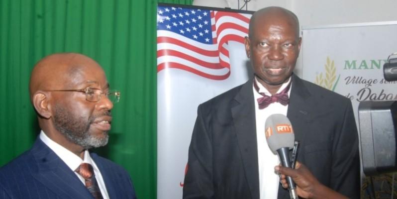 Tiahmo Rauf et Dr Amadou Moustapha Bèye, responsables de l'initiative Many, veulent relever le défi de la mécanisation de l'agriculture. (Photo : DR)