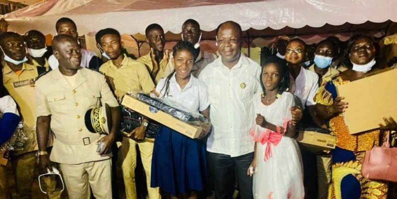 Pierre Dimba entend relever certains défis au niveau scolaire pour contribuer à l'émergence de « l'Ivoirien nouveau ». (Photo : DR)