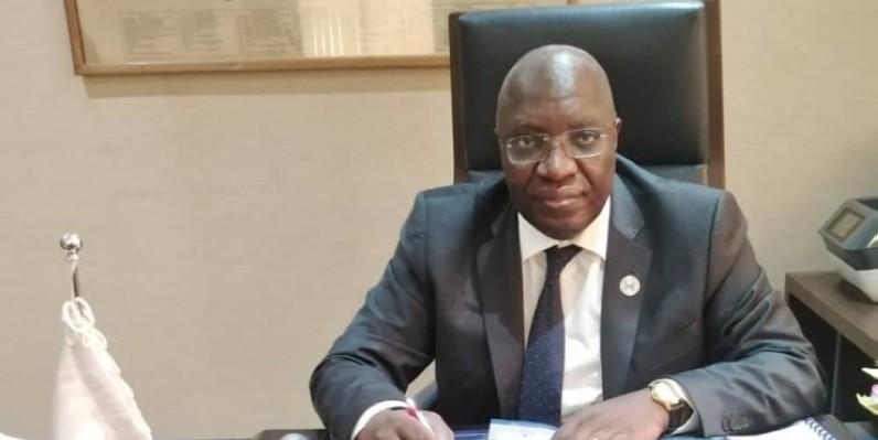 Dr Paul Koffi Koffi, Commissaire chargé du département du développement de l'entreprise, des mines, de l'énergie et de l'économie numérique. (Photo : DR)