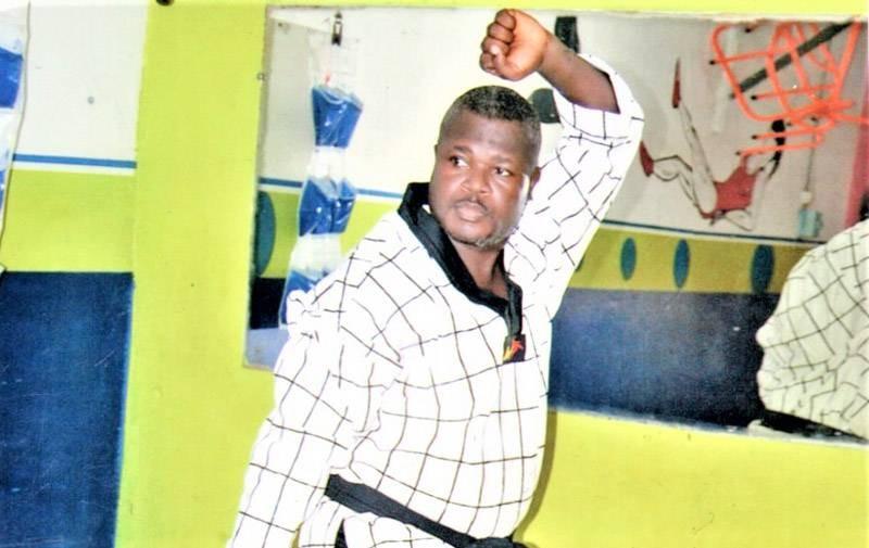 Me Odilon N'Guessan, ceinture noire 5e Dan de Taekwondo. (Photo : DR)