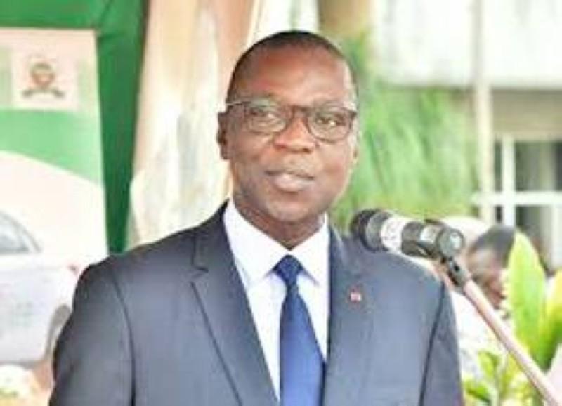 Le ministre Amadou Koné a salué les promoteurs au nom du Premier ministre Patrick Achi. (DR)