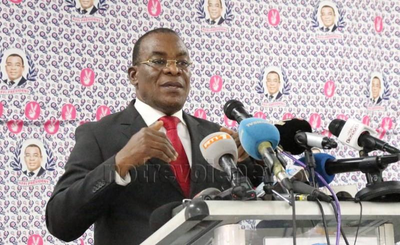 Le président du Fpi, Pascal Affi N'Guessan