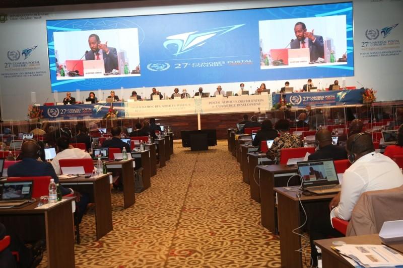 Les congressistes en plénière, c'était le 12 août. (Photo : Sébastien Kouassi)