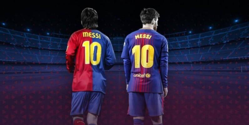 Le numéro 10 de Lionel Messi. (DR)