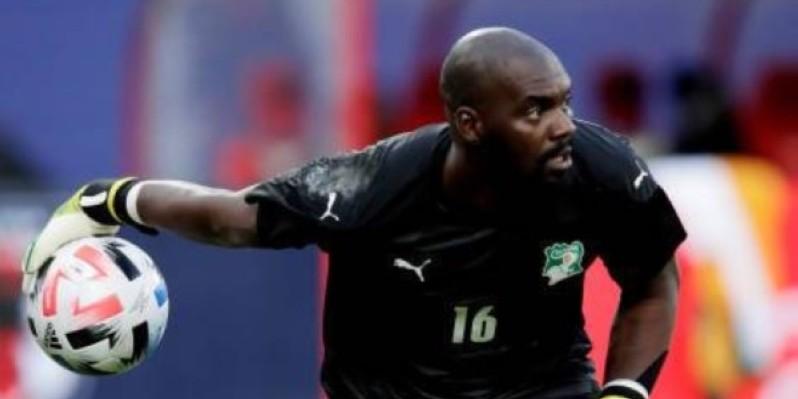 Sylvain Gbohouo, l'international ivoirien va rebondir en Guinée équatoriale. (DR)