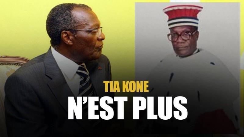 L'ancien président de la Cour suprême, Tia Koné sera inhumé le vendredi 27 août à Man. (DR)