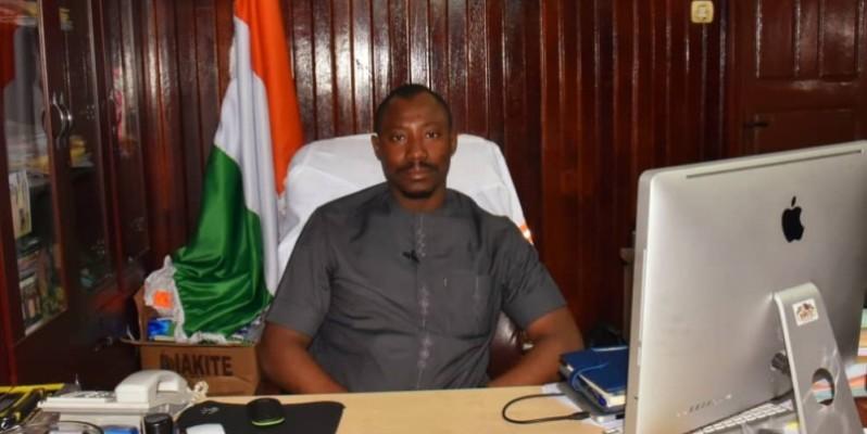 Diakité Alahassane, commissaire général du Forum national du jeune cacaoculteur. (DR)