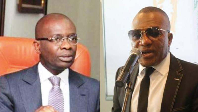 Le procureur de le République Richard Adou a requis à l'encontre de M. Touré Aladji Moussa Moustapha alias « Touré Al Moustapha » un mandat de dépôt. (Montage photo : Fratmat.info)