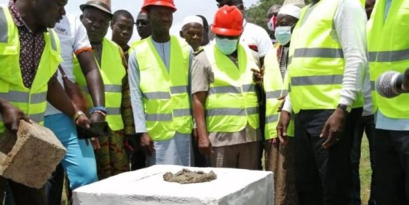 Après la pose symbolique de la première pierre, place maintenant à la réalisation de l'infrastructure (PHOTO: DR)