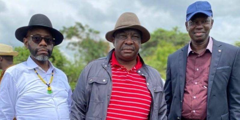 Le ministre d'Etat Kobenan Kouassi Adjoumani retourne à Dabakala pour apporter ses encouragements aux riziculteurs. (Photo: DR)