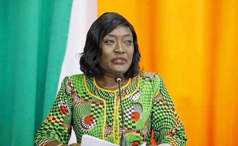 La ministre de l'Éducation nationale et de l'Alphabétisation, Mariatou Koné. (DR)