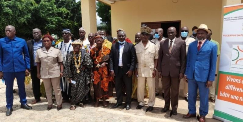 Les autorités locales et traditionnelles ont pris part à l'atelier de formation dans la capitale de la région du Bélier. (Photo : DR)