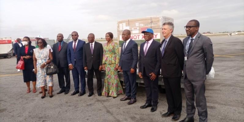 Les autorités ivoiriennes ont dit leur gratitude aux partenaires qui ont facilité l'achat du stock de vaccins. (Photo : DR)